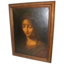 18th C. Portrait of the Madonna