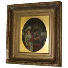 Oil Painting on Metal