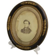 Oval Portrait of a Man