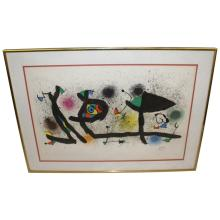 Lithograph by Miro