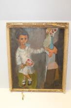 Irma Cavat Oil on Canvas