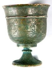 A CHINESE TANG DYNASTY SILVER CUP