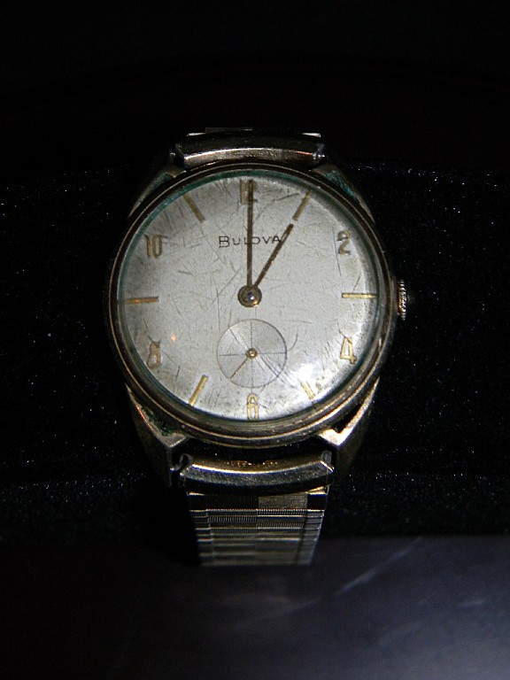 bulova watches vintage gold images
