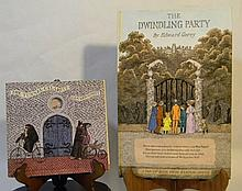 E. GOREY SIGNED DWINDLING PARTY & TUNNEL POP-UP
