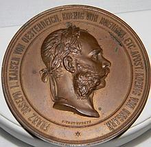 AUSTRIAN BRONZE MEDAL BY TAUTENHAYN OF JOSEPH I