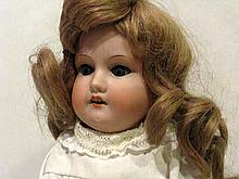 ARMAND MARSEILLE DOLLY FACE BISQUE DOLL 16