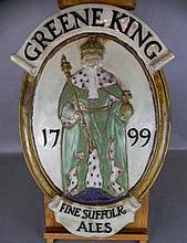 DOULTON BREWERIANA GREENE KING ALES KRUGER-GRAY