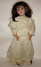 KLEY & HAHN GERMAN BISQUE DOLLAR PRINCESS DOLL