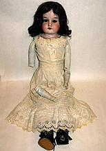 ARMAND MARSEILLE DOLLY FACE BISQUE DOLL 20