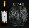 LARGE VINTAGE VAL ST LAMBERT FACETED GLASS VASE