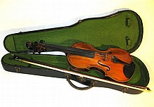 Georg Rieger Mittenwald Violin with Bow and Case