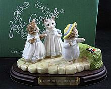 Beatrix Potter Beswick Mittens Tom Kitten & Moppet
