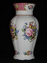 ROYAL ALBERT DOULTON LADY CARLYLE VASE 12