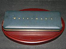 WATERMAN'S IDEAL 14K PEN & PENCIL SET ORIGINAL BOX