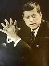 JOHN KENNEDY GELATIN SILVER PRINT by TONY SPINA