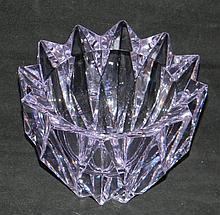 AIMO OKKOLIN GLASS WATERLILY SCULPTURE