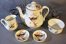 ROYAL DOULTON PORCELAIN BREAKFAST SET