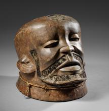 Masque  heaume  Makondé   Mozambique