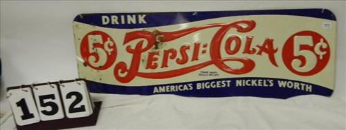 "Pepsi Cola ""America's Biggest Nickel's Worth Sign"