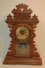 Gingerbread style clock