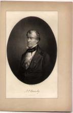PORTRAIT of author John Pendleton Kennedy