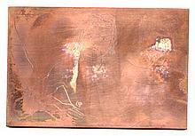 Walt Kuhn ORIGINAL COOPER etching plate