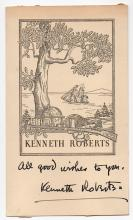 Kenneth Roberts (1885-1957) American author