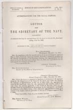 GIDEON WELLES - 1865 Gov. Document