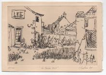 Chabrier - French Etching 1957