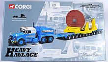CORGI HEAVY HAULAGE; Original Corgi Heavy Haulage 18001 Econofreight Heavy Transport Ltd. Within the original box, appears to be complete although unchecked, with certificate.