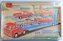 CORGI; Original vintage Corgi Toys Gift Set 28 - Carrimore Transporter With Bedford Tractor Unit & Four Cars. Within the original cardboard box.