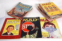MAD MAGAZINE; A collection of 37x 1950's / 1960's