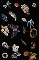 20 antique and later brooches to include enamel,