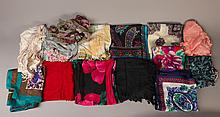 Grouping of 14 1960's & 1970's Scarfs
