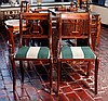 Pair of Duncan Phyfe Lyre Back Chairs