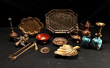Grouping of Asian Brass