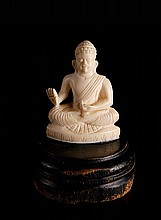 Chinese Carved Ivory Buddha