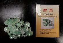 Chinese Carved Jadeite Ruyi