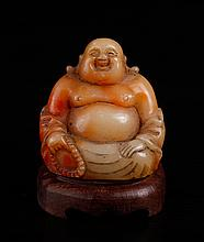 Chinese Carved Shoushan Statue
