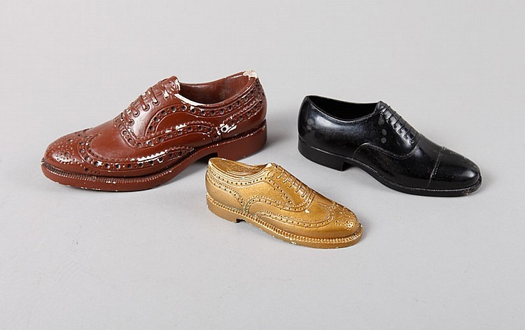 3 Salesman Sample Shoes