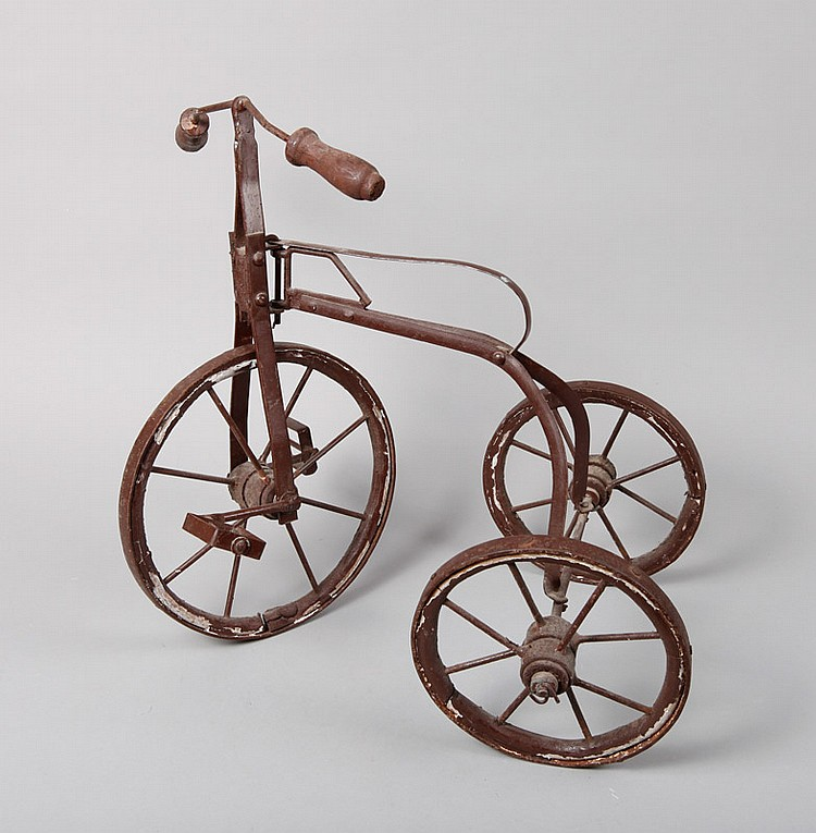 Antique Salesman Sample Tricycle or Toy