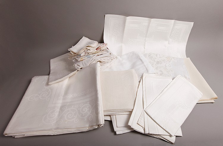 Grouping of Table Linens