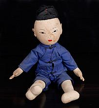 Antique Chinese Cloth Doll