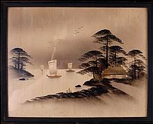 Japanese Framed Painting