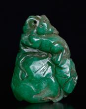 Chinese Carved Jade Pendant