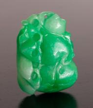 Chinese Carved Hardstone Pendant