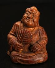 Chinese Carved Bamboo Statue