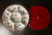 Chinese Famille Rose Porcelain Sweet Meat Set