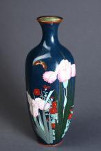 Antique Asian Cloisonne Vase