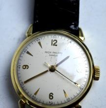 Patek Philippe Geneve 18 Jewel Watch 18K Case